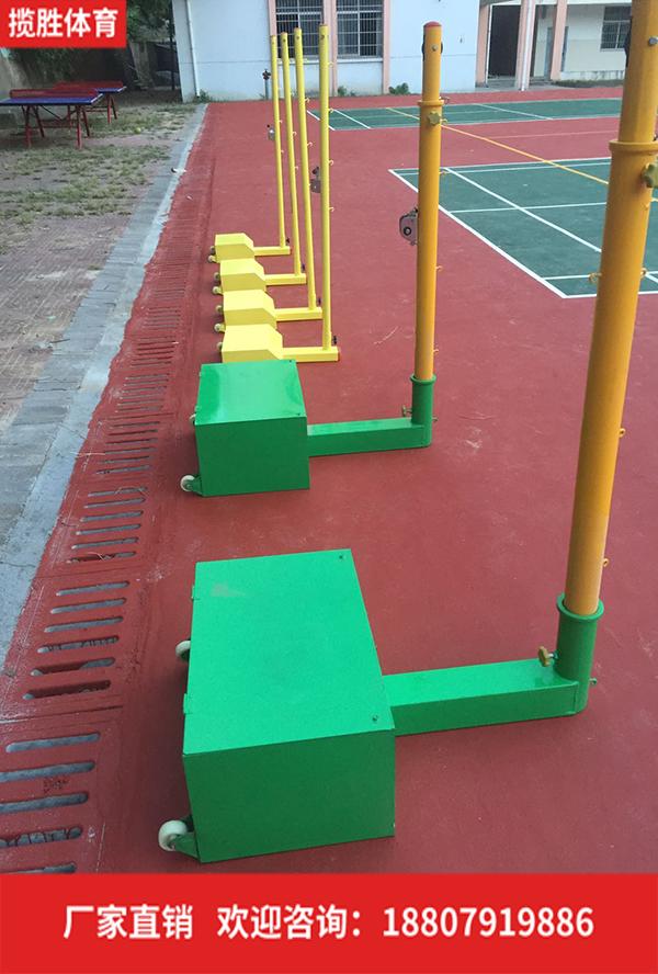 排羽網球柱